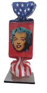 Candy USA Marilyn Sculpture – Ad van Hassel