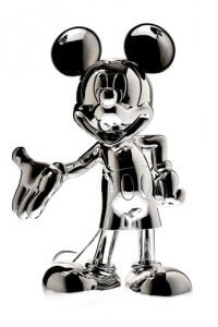 Silver Sculpture Mickey – Mickey and Friends